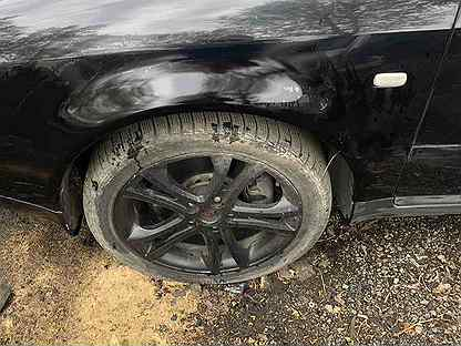 Крыло на Audi a6