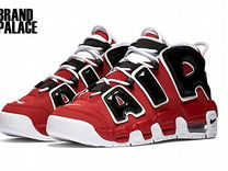 Nike Air More Uptempo x Supreme White Red