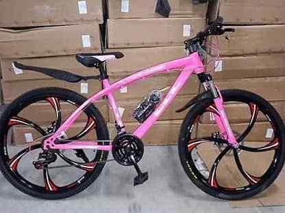Велосипеды на литых дисках. Арт. 345