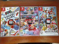3 игры Nintendo Switch