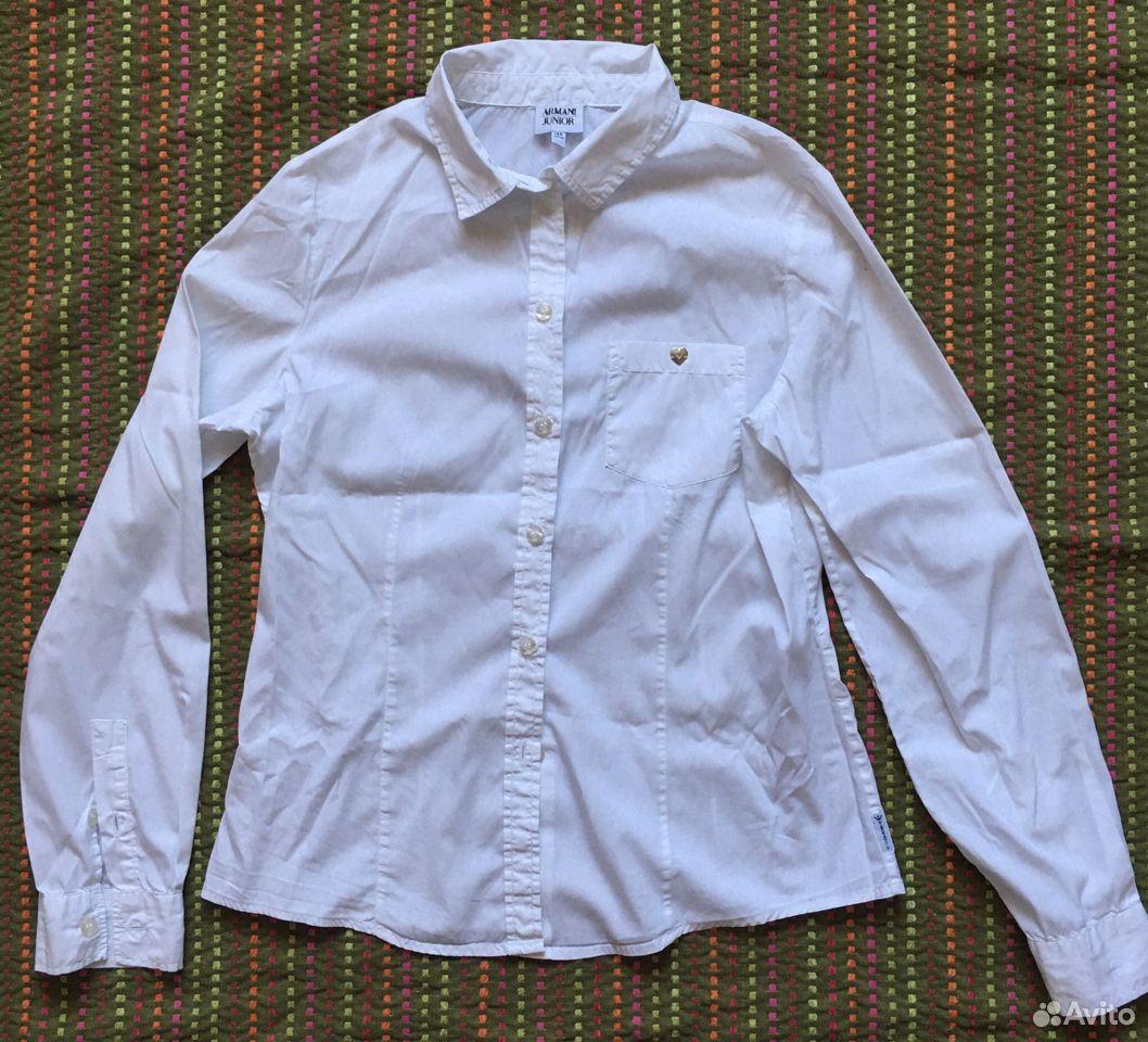Рубашка блузка для девочки Armani оригинал 14А 166  89163063125 купить 2