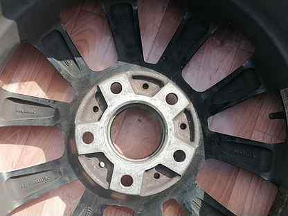 Колеса оригинал Dunlop R17 (зима) на BMW X1 (E84)