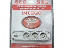 Разветвитель автоприкуривателя intego С-11