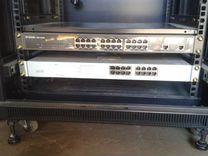 Серверный напольный шкаф Toten Rack 5 на 42U. Б/У